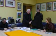 Встреча с Председателем Союза писателей России В.Н. Ганичевым