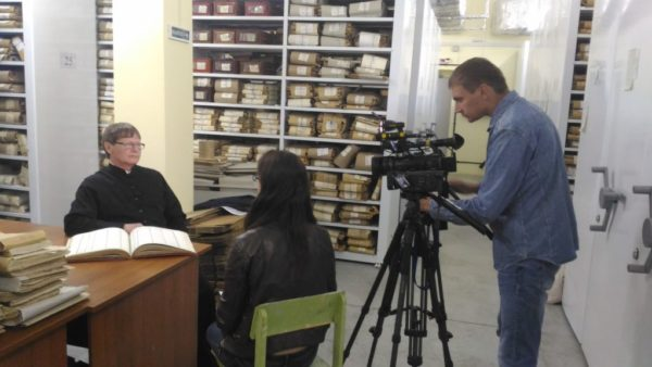 23 мая 2018 года в здании Государственного архива Ульяновской области проходили съёмки первого фильма о Троицком Соборе Симбирска