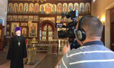 Продолжаются съёмки фильма «Симбирск – город Святой Троицы. История Собора».