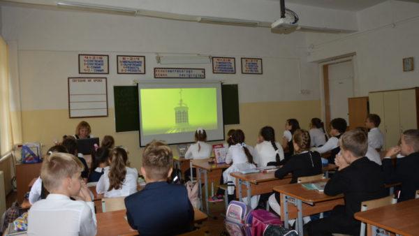 В школах города Ульяновска прошёл показ первого фильма трилогии «Утраченные святыни (храмы) Симбирска
